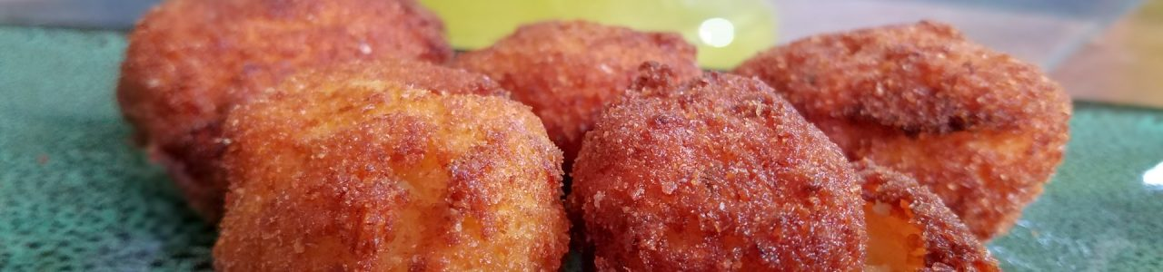 Croquettes, golden brown