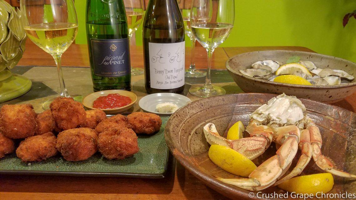 Croquettes & Picpoul Tasting