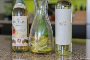 Sangria Test with Sav Blanc