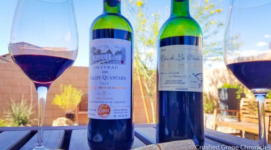 Côtes de Bordeaux from Cadillac and Castillon