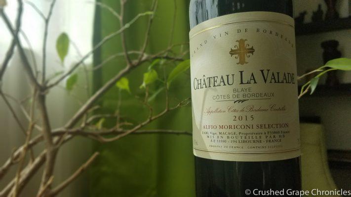 2015 Château la Valade Blaye Côtes de Bordeaux