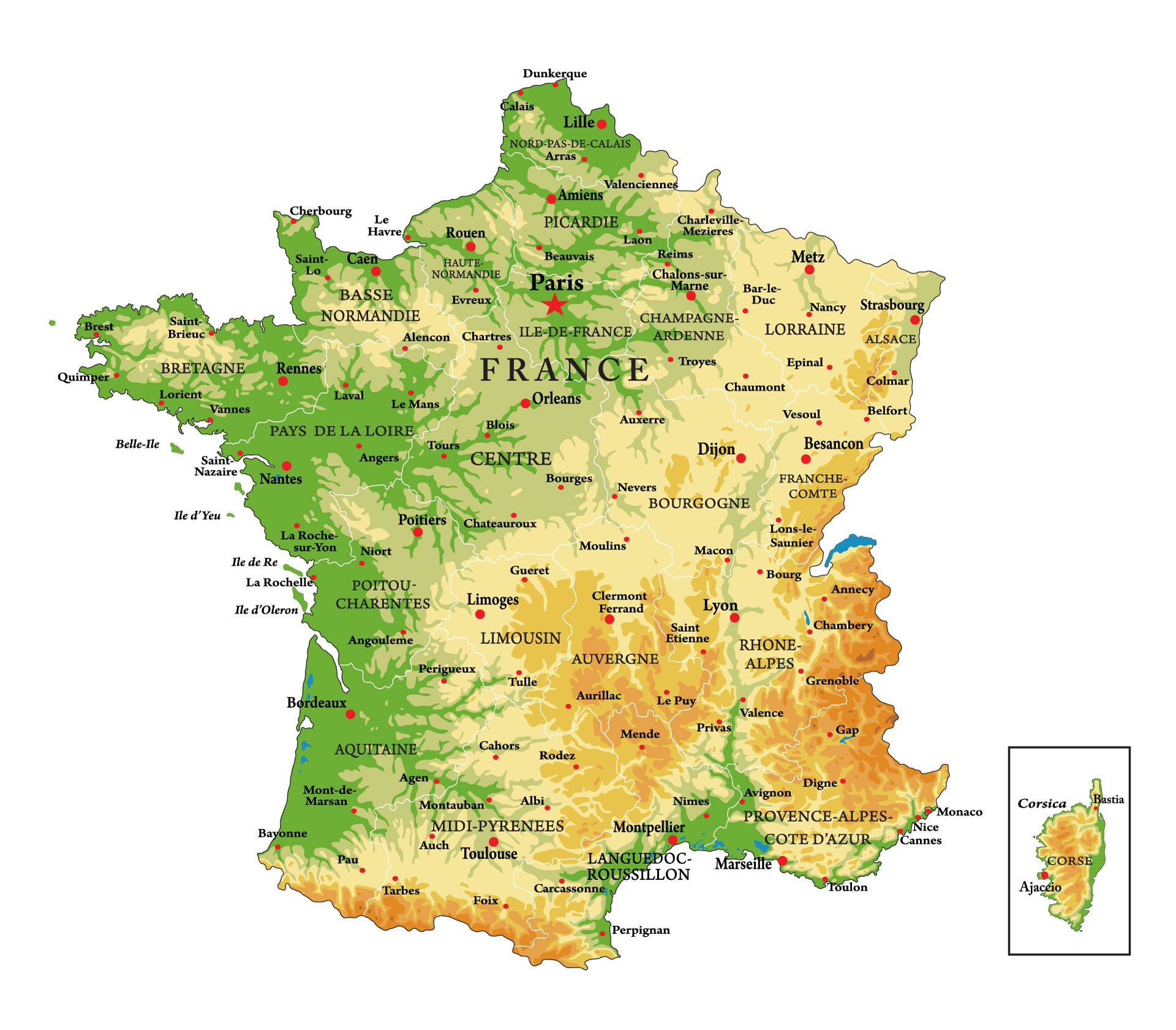 Francephysicalmap 1920