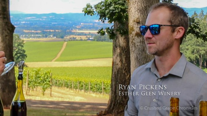Esther Glenn Winemaker, Ryan Pickens