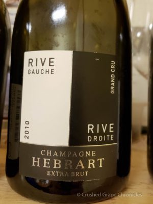 2010 Marc Hébrart Rive Gauche Rive Droite Grower Champagne Extra Brut