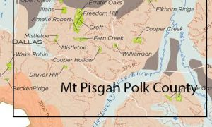 General Area of the proposed Mount Pisgah AVA