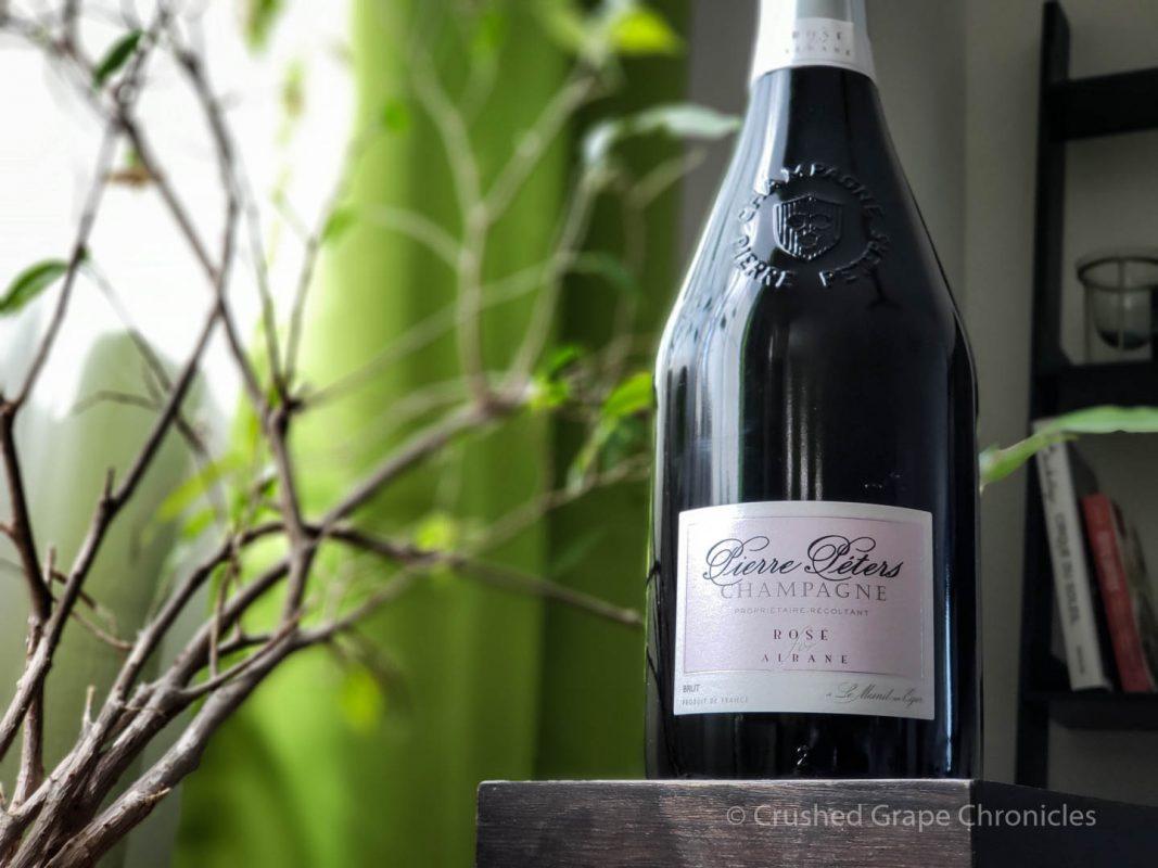 Pierre Péters Champagne Rosé for Albane