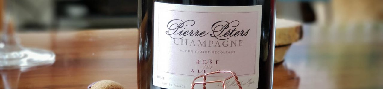 Pierre Péters Champagne Rosé for Albane