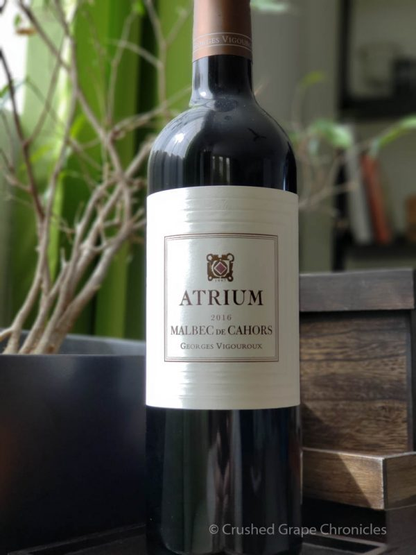 Atrium 2016 Malbec from Cahors