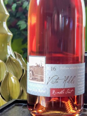 Rumble Seat 2016 Pinot Gris Rosé from Vista Hills