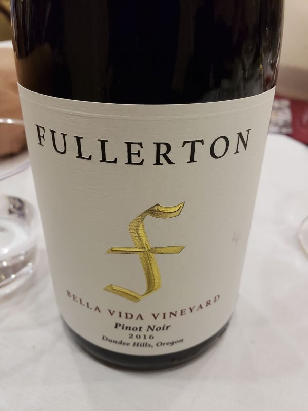 Fullerton Pinot Noir