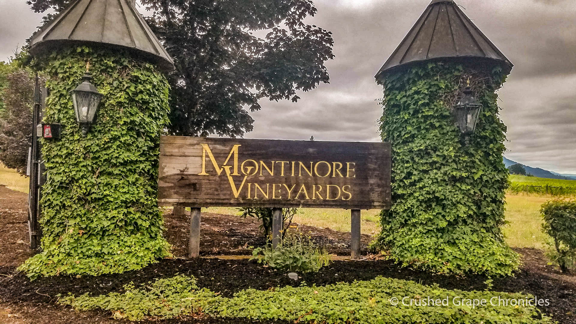 Montinore Vineyards Entrance