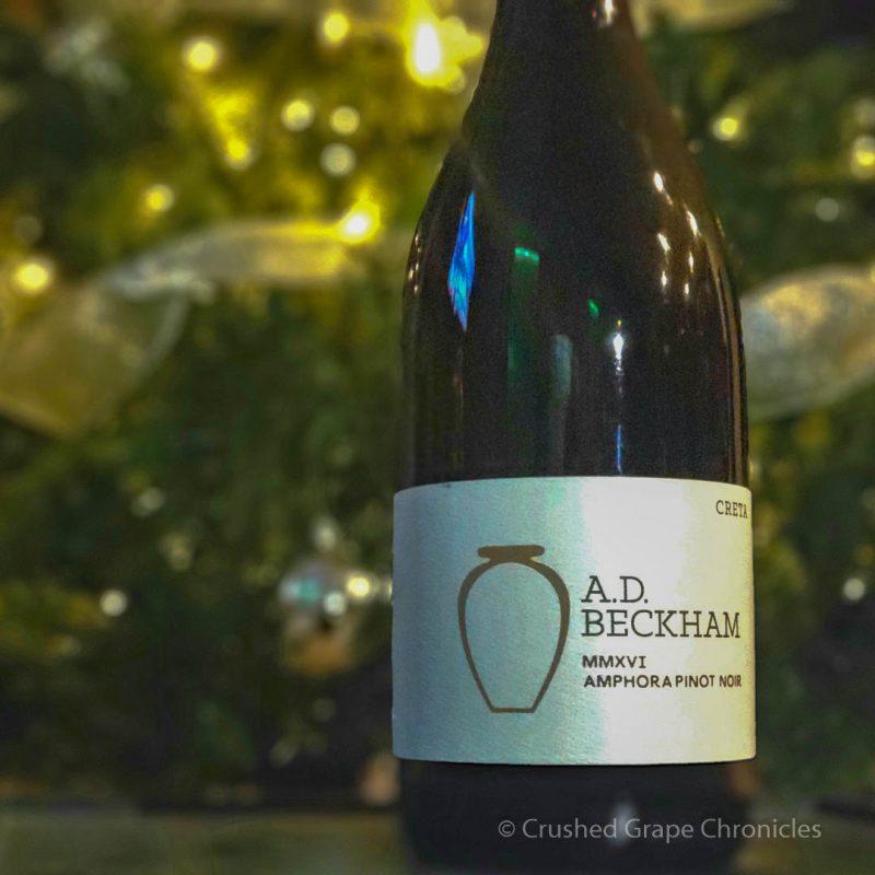 Ad Beckham 2016 Amphora Pinot Noir