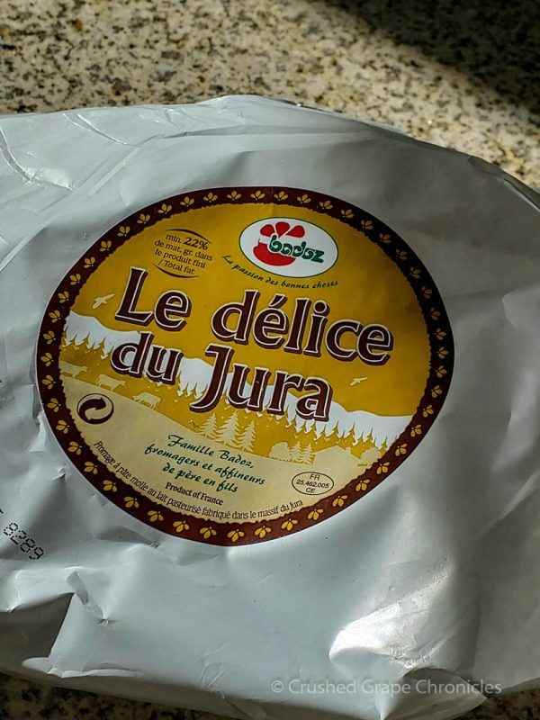 Le délice du Jura cheese for the Tartiflette
