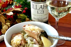Illahe2017 Estate Gruner Velthiner with Cabbage Soup