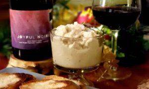Joyful Noise 2015 Pinot Noir with Tuna