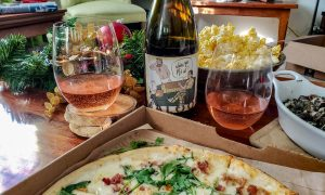 Maloof Wines. Where ya Pj's at, with Blaze Pizza