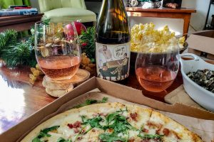 Maloof Wines. Where ya Pj's at, with Blaze Pizza