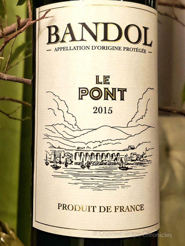 Le Pont 2015 Bandol