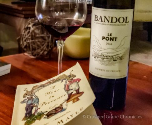 A Year in Provence and a bottle of Bandol