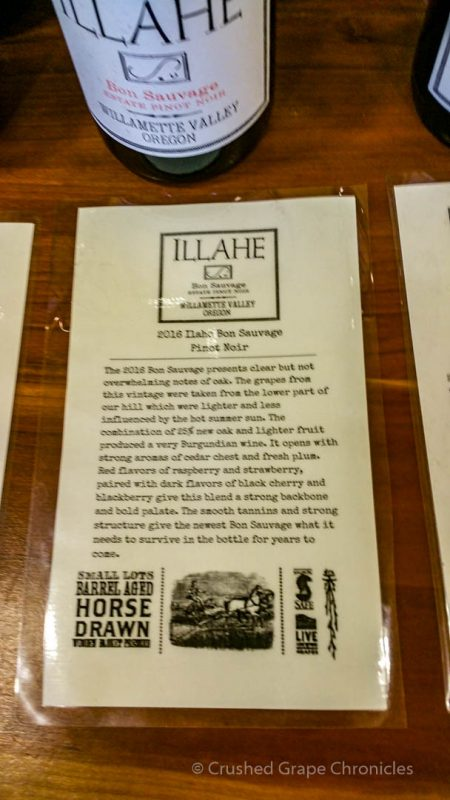 Illahe Vineyards – Into the Winery - Crushed Grape Chronicles