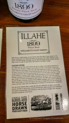 "Illahe Vineyard 2015 ""1899"" Pinot Noir"