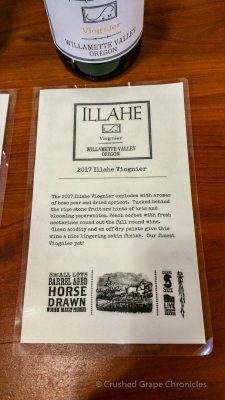 Illahe Vineyard 2017 Viognier