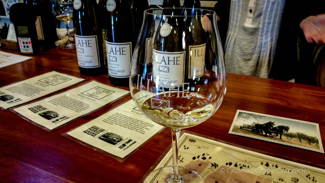 Illahe Vineyard Tasting room