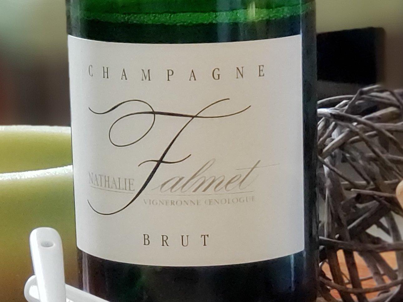 Champagne Nathalie Falmet - Vigneronne Oenologue