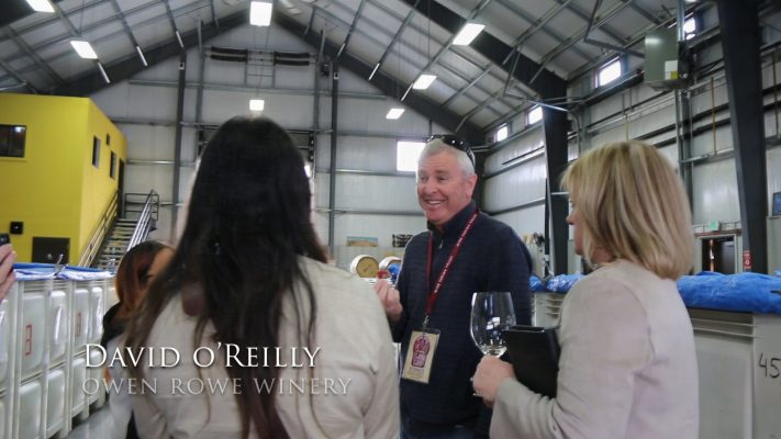 David O'Reilly co-owner Owen Roe Winery