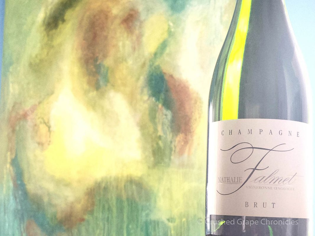 Nathalie Falmet Brut & Champagne, by the Artist RuBen Permel of Act2Art