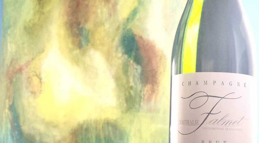 Nathalie Falmet Brut & Champagne, by the Artist RuBen Permel of Act2Art
