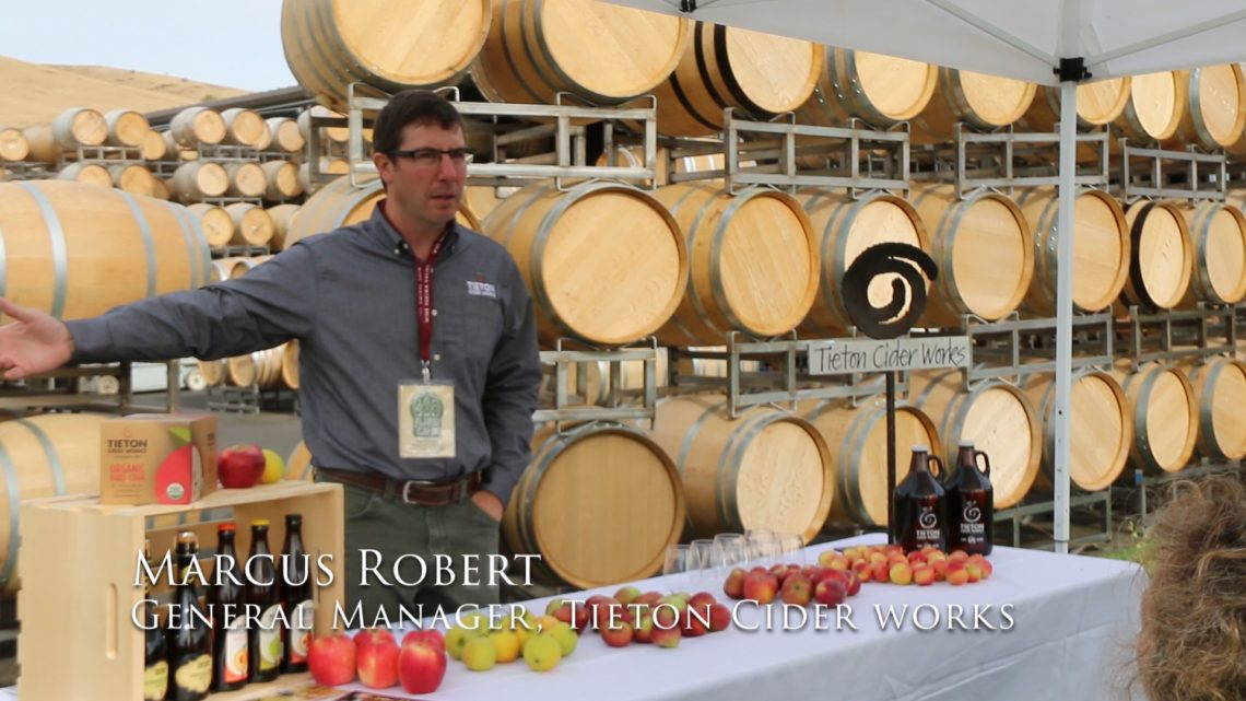 Marcus Robert General Manager Tieton Cider Works Yakima Washington