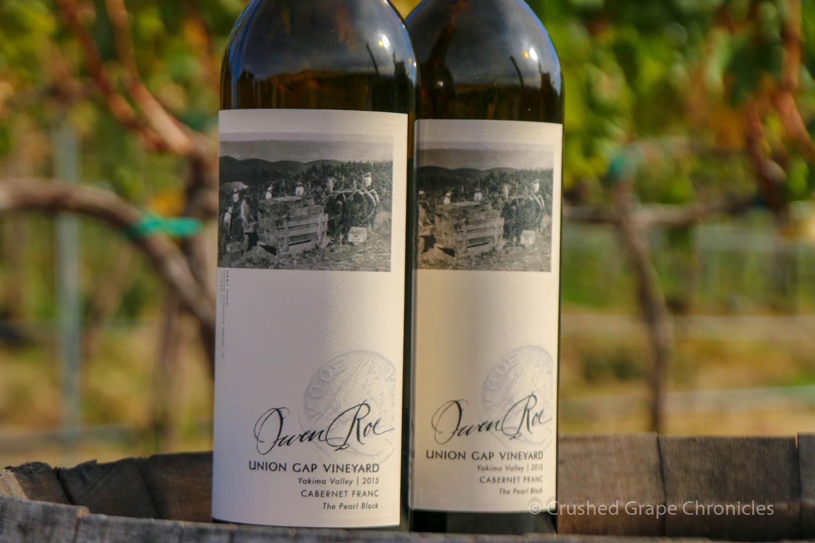 Owen Roe Winery, in Washington State Union Gap Cabernet Franc