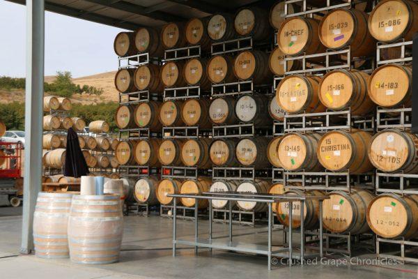Owen Roe Barrels at Yakima Valley Flavor Camp