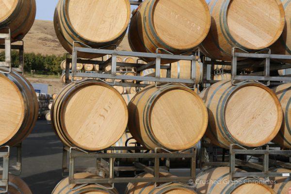 Owen Roe Winery Barrels in Yakima Valley Washington