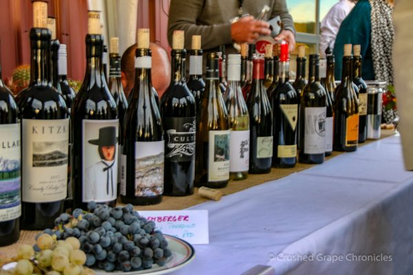 Wines at Yakima Valley Flavor Camp