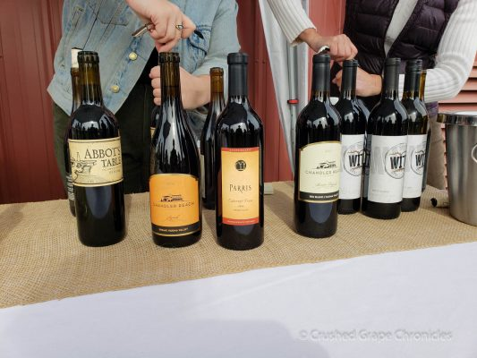 Wine at Wine Yakima Valley Flavor Camp 2018