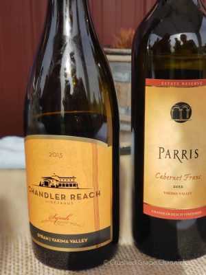 Chandler Reach & Parris at Wine Yakima Valley Flavor Camp 2018