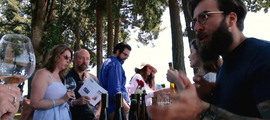 Maloof Wines: 2017 Beckenridge Vineyard Gewurztraminer