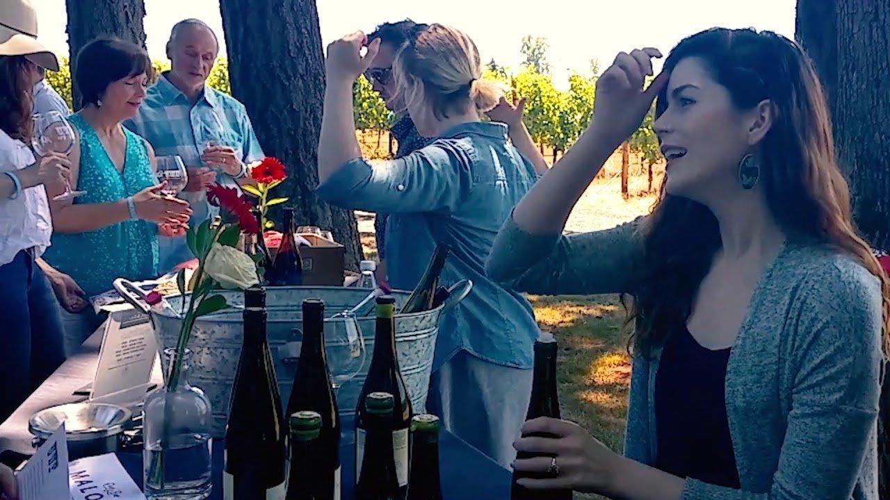 Maloof Wines: 2017 Nemarniki Vineyard Riesling