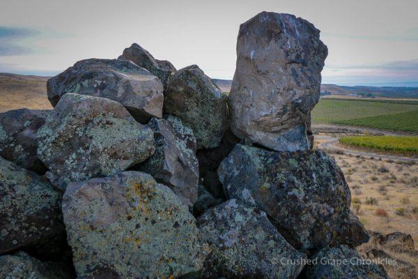 Basalt at Elephant Mountain Vineyard