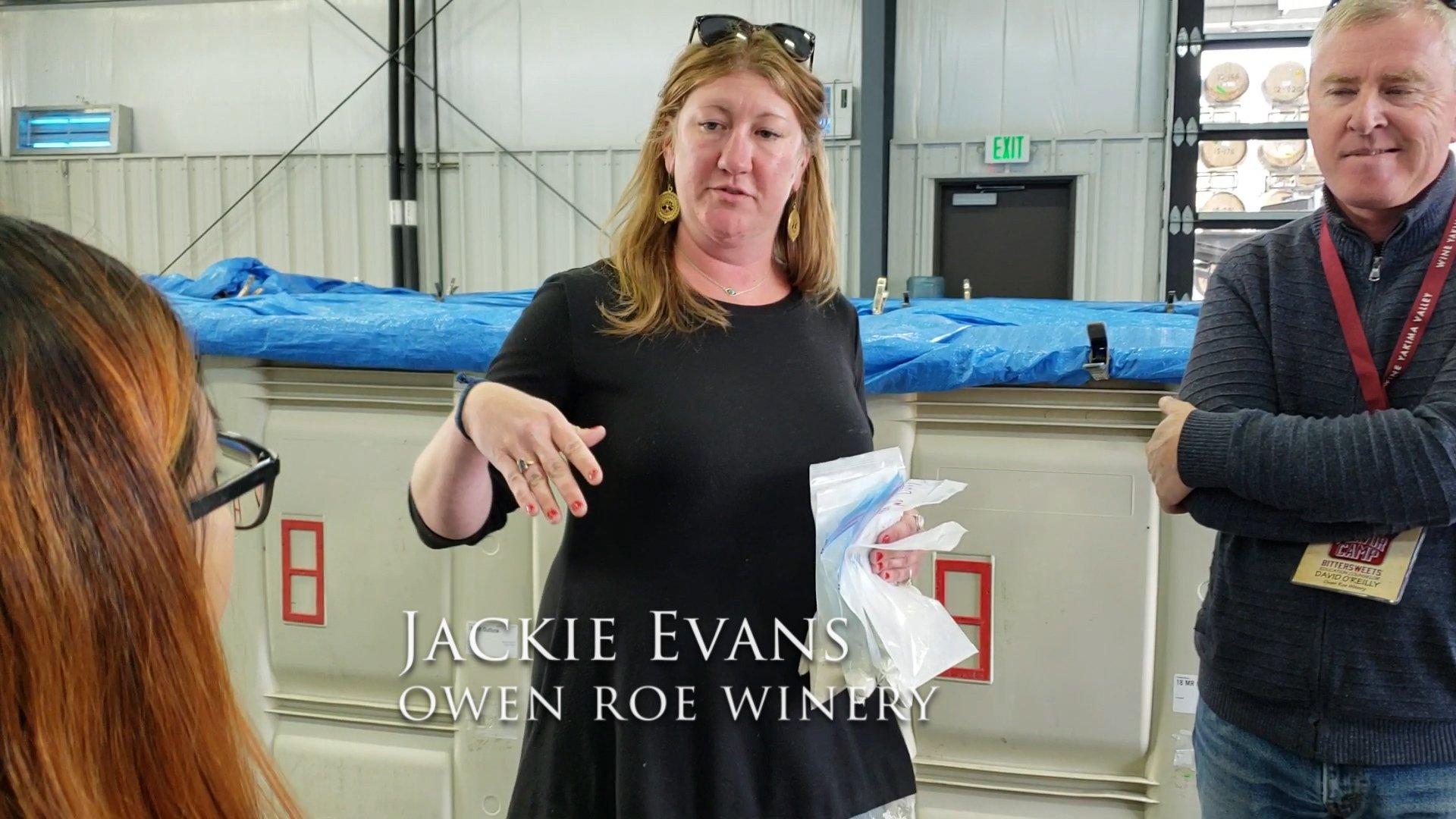 Jackie Evans, Owen Roe Winery, Winemaker