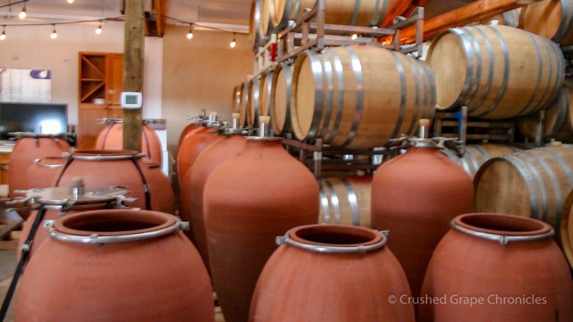 Beckham Amphora and barrels