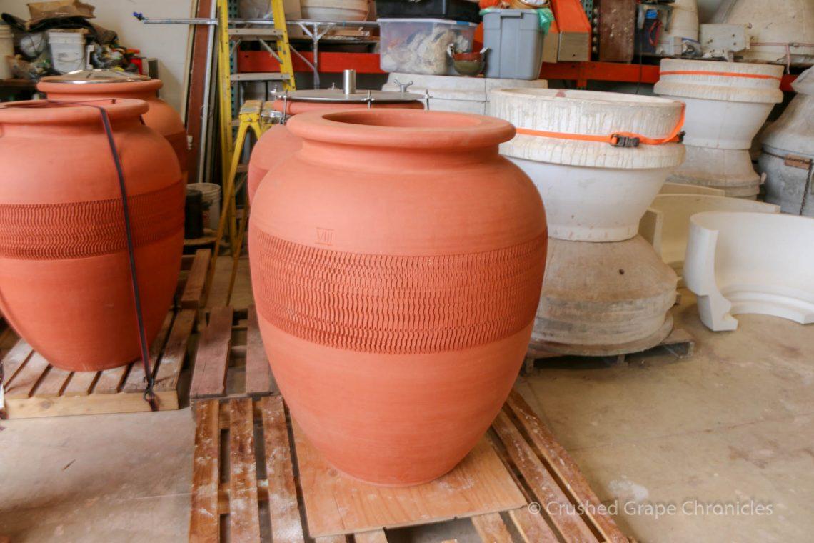 Beckham Vineyard amphora