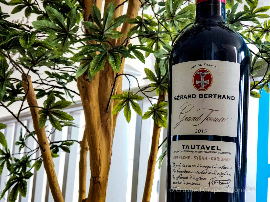 Gérard Bertrand Grand Terroir Tautavel 2015 bottle shot Languedoc