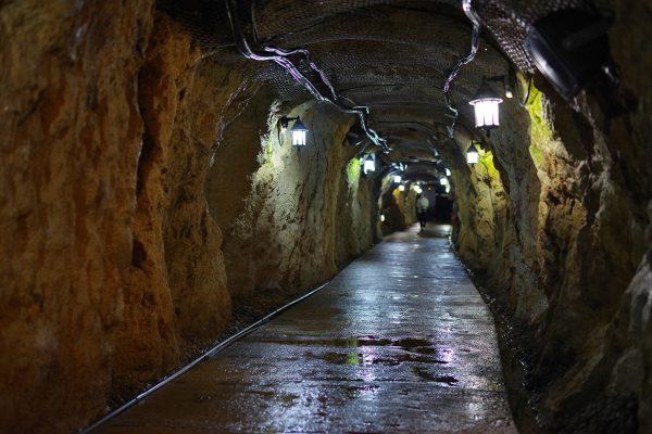 Underground Wet cave