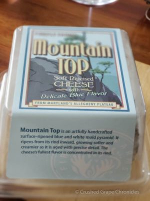 MountainTop Cheese from FireFly Cheese in Maryland