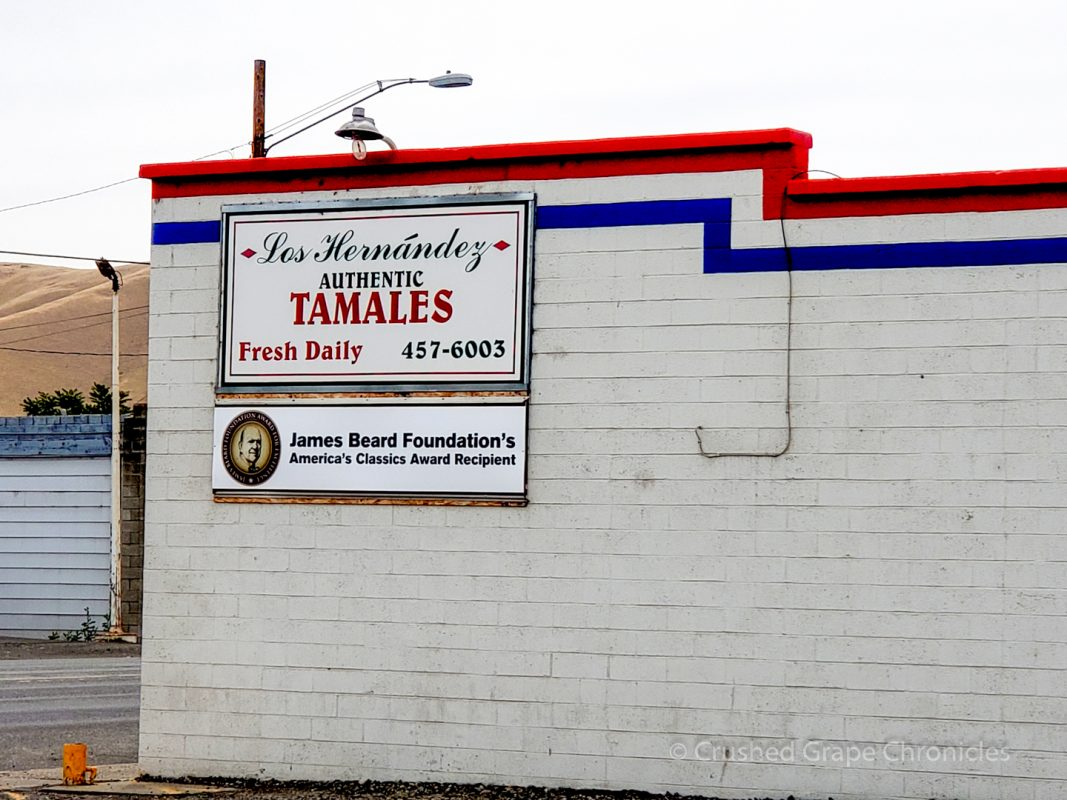 Los Hernández Authentic Tamales Union Gap Washington James Beard Award Winner