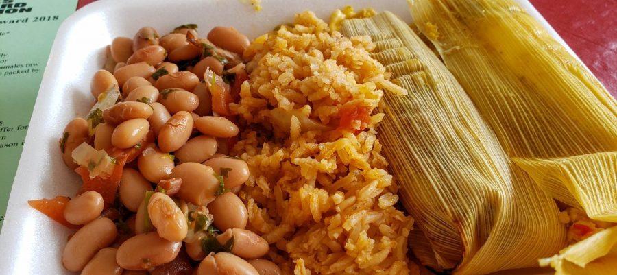 Lunch special at Los Hernández