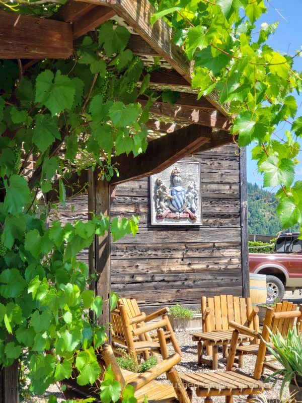 Girardet Tasting Room in Umpqua Valley in Southern Oregon